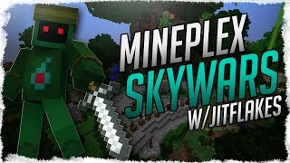 Download Mineplex Skywars with Special Guest Jitflakes | Minecraft Minigames Video
