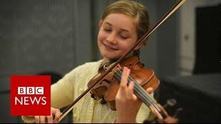 Download 'I'm a little Alma, not a little Mozart' - BBC News Video