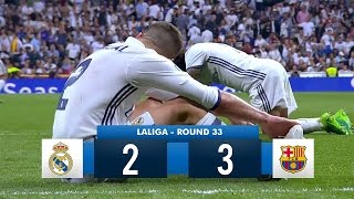 Download Real Madrid 2-3 Barcelona HD 1080i Full Match Highlights (23/04/17) Video