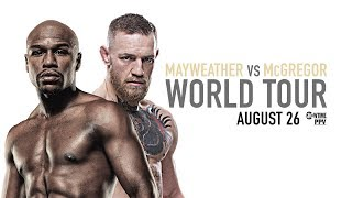 Download Mayweather vs McGregor: Toronto Press Conference Video