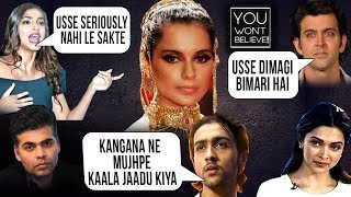 Download Kangana Ranaut Biggest FIGHTS Ever In Bollywood | You Won't Believe Video
