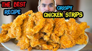 Download How to make Crispy CHICKEN STRIPS / TENDERS / FINGERS Video