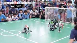 Download ROBOT SOCCER ″FRONTALE CUP″ - SPEED STARS VS BAMBOO BRIDGE - Video