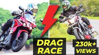 Download Pulsar RS200 VS Pulsar 200NS DRAG RACE Video