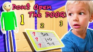Download Don't Open the Wrong MYSTERY Door MEETS Baldi's Basics in Real Life! Video