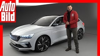 Download Skoda Vision RS (Paris 2018) Sitzprobe / Details / Review Video