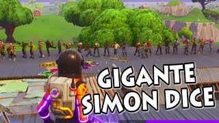 Download SIMON DICE GIGANTE! *INCREÍBLE FINAL* FORTNITE PERSONALIZADAS Video