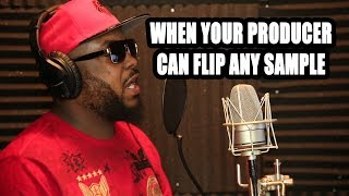 Download WHEN YOUR PRODUCER CAN FLIP ANY SAMPLE [StateFarm beat in description] Video