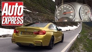 Download BMW M4 maxed out on 1,000-mile road trip Video