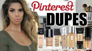 Download PINTEREST DUPES TESTED Foundations | Laura Lee Video