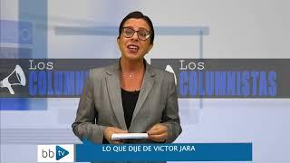 Download Teresa Marinovic: Lo que dije de Víctor Jara Video