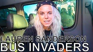 Download Lauren Sanderson - BUS INVADERS Ep. 1340 Video