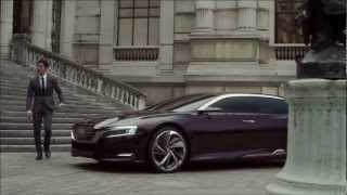 Download Citroen DS9, Numero 9 Concept (gasoline plug-in hybrid) Video