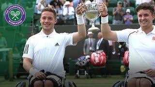 Download Gordon Reid and Alfie Hewett champions for a third time | Wimbledon 2018 Video