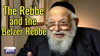 Download The Rebbe and the Belzer Rebbe; the Kedushat Aharon Video
