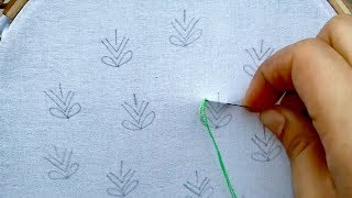Download hand embroidery all over design with brazilian stitch Video