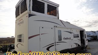 Download 2009 Outback Loft 27T | A Full Two Story Bumper Pull Toy Hauler! Perfect for The NAS Car Infield! Video
