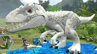 Download LEGO Jurassic World - Jurassic Park Hub 100% Guide #2 - Dilophosaurus & Triceratops Territory Video