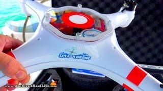 Download NEW! Mariner2 ″SPLASH DRONE″ w/Waterproof Gimbal arrives! Unboxing video in BVIs, CARIBBEAN! Video