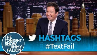 Download Hashtags: #TextFail Video