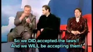 Download Zhirinovsky sparks off outrage on debates (ENG SUBTITLES) Video