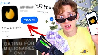 Download I JOINED the most EXPENSIVE DATING APP in the WORLD for a WHOLE WEEK!!! *RICH TINDER* Video