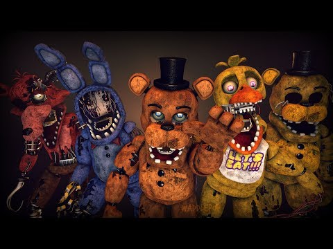 Withered Generations | FNaF Speedart (SFM)