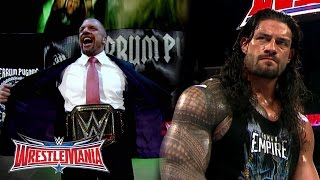 Download The Road to WrestleMania: WWE World Heavyweight Champion Triple H vs. Roman Reigns Video