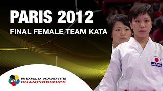 Download (1/2) Karate Japan vs Italy. Final Female Team Kata. WKF World Karate Championships 2012 Video