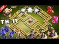 Download Best Th11 War Base 2017 Anti 1 Star/Anti 2 Star With Replay Anti Bowler Anti Miner Anti Everything Video