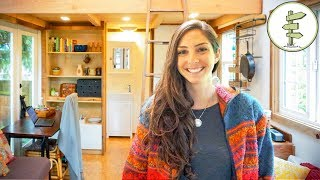 Download Woman Builds Unique Tiny House for Affordable City Living - Tour & Interview Video