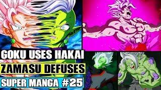 Download Dragon Ball Super Manga Chapter 25 - Goku Uses Hakai On Merged Zamasu! Merged Zamasu Defuses?! Video