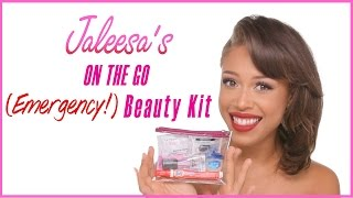 Download JALEESA'S On The Go EMERGENCY Beauty Kit Video