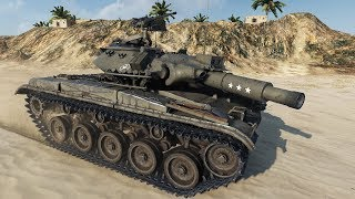 Download World of Tanks T49 (Milkys Tank Skin) 7854 DMG - Airfield Video