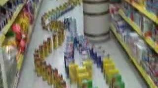 Download Supermarket domino Video