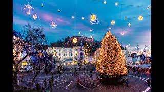 Download Festive December in Ljubljana Video