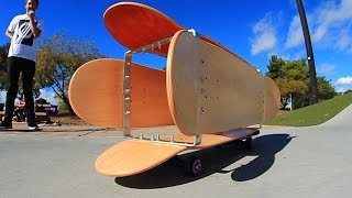 Download THE BARREL BOARD?!! | YOU MAKE IT WE SKATE IT EP 57 Video