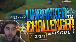 Download Yassuo | UNRANKED TO CHALLENGER IN ONE WEEK | Episode 1 Video