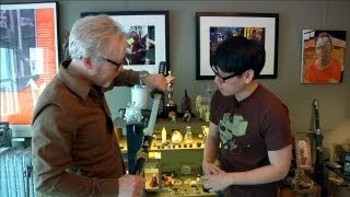 Download Tour of Adam Savage's Home Office Video