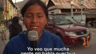Download Me llega que la gente se avergüence de hablar quechua! Video