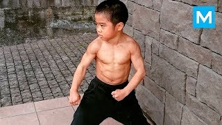 Download Little Dragon - Baby BRUCE LEE - Ryusei Imai   Muscle Madness Video