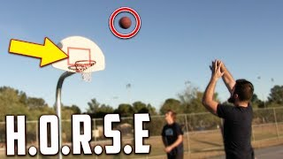 Download Crazy Game Of H.O.R.S.E! IRL Basketball Challenge Video