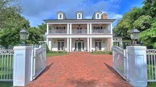 Download Two Story Colonial Revival Custom Home in Pinecrest, Florida Video
