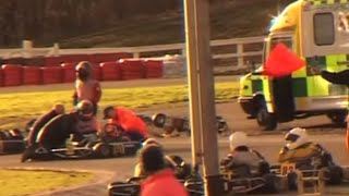 Download Worst Karting Crash Caught on Camera! Video