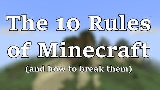 Download The 10 Rules of Minecraft (and How to Break Them) Video