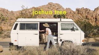 Download Joshua Tree National Park in a Westfalia Vanagon! Alli Cherry Camping Vlog Video