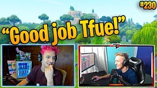 Download Ninja and Tfue DESTROY Pro Players!! (The Dream Duo!) | Fortnite Best and Funny Moments 230 Video