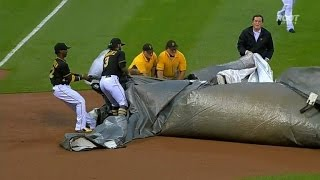 Download Baseball Players Rescue Groundskeeper Caught in Giant Field Tarp Video