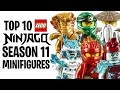 Download Top 10 LEGO NINJAGO Season 11 Minifigures! Video