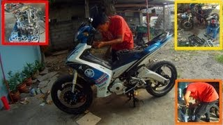 Download How to Remove Motorcycle Engine in 5 MINUTES! Video